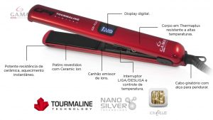 Chapinha Gama Italy Digital Tourmaline Ion Plus