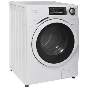 Lavadora e Secadora de Roupas Midea Acqua LSA 081 na cor Branca