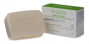 ADCOS- Acne Solution Sabonete Secativo Em Barra (90g)