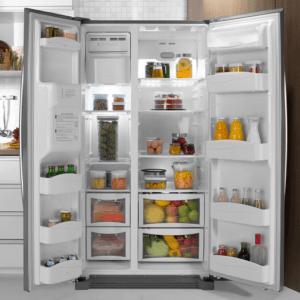 ELECTROLUX Refrigerador Side By Side Frost Free 504L Titanium