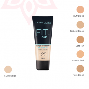 Fit Me Base Líquida – Maybelline
