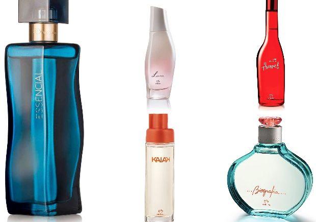 Melhores Perfumes Natura