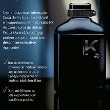 Perfumes Natura K MAX
