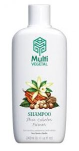 Shampoo orgânico Multi Vegetal
