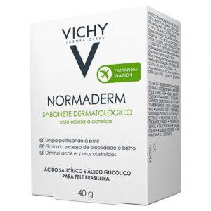 VICHY- Sabonete Dermatológico Normaderm Pele Oleosa a Acneica (40 g)