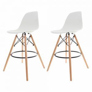 Banqueta Alta Eiffel Eames