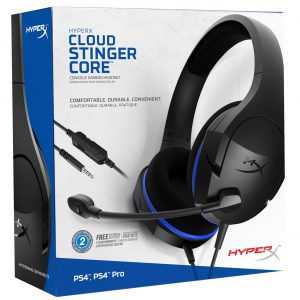 Headsets para PS4 HyperX Cloud Stinger Core