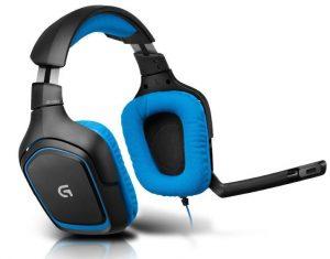 Headsets para PS4 Logitech G430