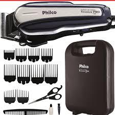 Maquinas de cortar cabelo Philco Titanium Pro PCR01 14W