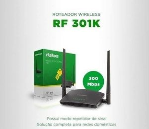 Roteadores Wireless Intelbras RF301K