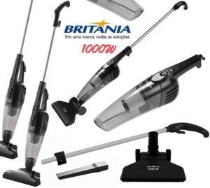 Aspirador de Pó Portátil e Vertical BAS1000P – Britânia