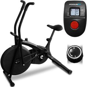 Bicicleta ergométrica Air Bike Podiumfit Ab100