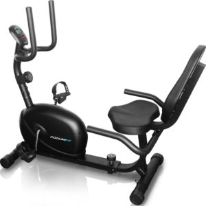 Bicicleta ergométrica horizontal PODIUMFITH100