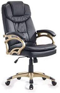 Cadeira de escritório presidente giratória Clark