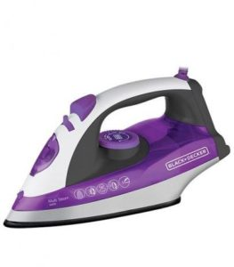Ferro a Vapor Black Decker Base Ceramic Plus X6000-BR