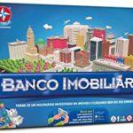 Jogo de Tabuleiro Banco Imobiliário Novo App Estrela