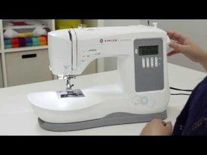 Máquina de Costura Eletrônica Singer Confidence 7640