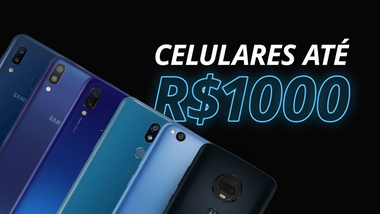 Melhores celulares de até R$1000