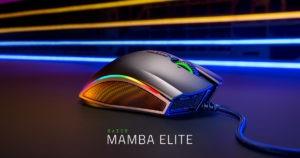 Razer (Mouse para Jogos Ergonômico Mamba Elite)