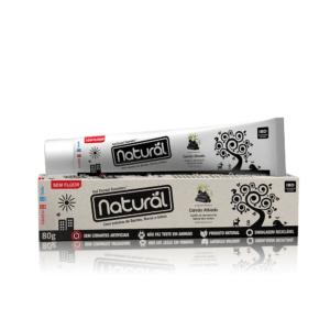 Creme Dental Clareador Natural com Carvão Ativado SUAVETEX