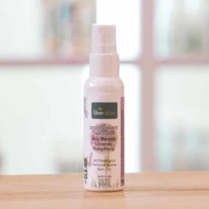 Desodorante Natural Aloe Gerânio LiveAloe