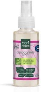 Desodorante Spray Natural e Vegano