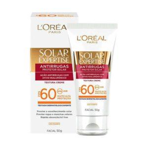 Protetor Solar Facial FPS 30 ou 60 Antirrugas - L'Oréal Paris
