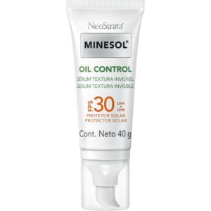 Protetor Solar Minesol Oil Control Sérum Antioxidante FPS 30 - ROC