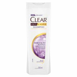 Shampoo Anticaspa Hidratação Intensa - Clear
