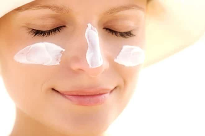 protetor solar para rosto