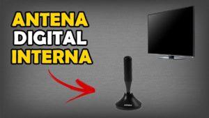 qual a melhor antena digital interna