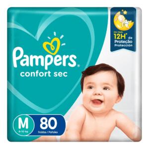 Fralda Confort Sec - Pampers