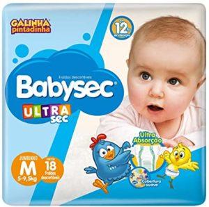Fraldas Descartáveis Ultrasec Galinha Pintadinha - Babysec
