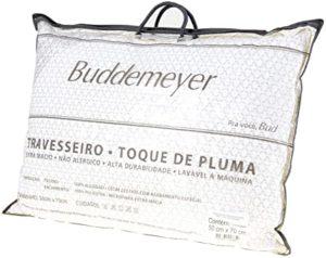 Kit 2 Travesseiros Toque de Pluma - Buddemeyer