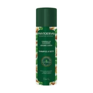 Shampoo a Seco Phytoervas Controle de Oleosidade Gengibre