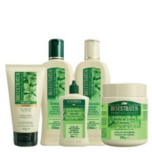 Shampoo para queda de cabelo Bio ExtratusAntiqueda Jaborandi
