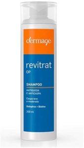 Shampoo para queda de cabelo DermageRevitrat OP Antiqueda e Anticaspa