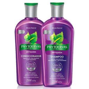 Shampoo para queda de cabelo PhytoervasAntiqueda Bétula Natural