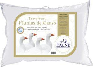 Travesseiro 100% Plumas de Ganso - Daune