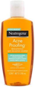 Tônico adstringente Neutrogena Acne Proof
