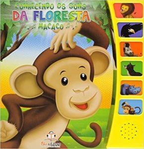 Brinquedo Educativo Blu Editora Livro - Conhecendo os Sons da Floresta