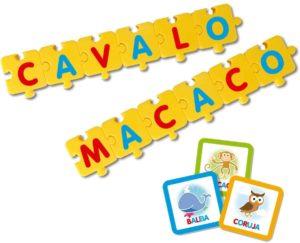 Brinquedo Educativo Elka Jogo Monta Palavras Multidisciplinar