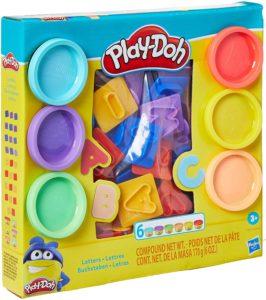 Brinquedo Educativo Hasbro Conjunto Play-Doh Letras e Números