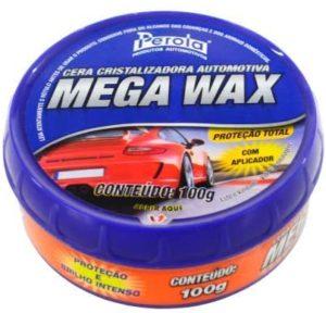 Cera Automotiva Pérola Mega Wax