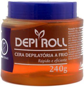 Cera para depilação fria Depiroll Tradicional