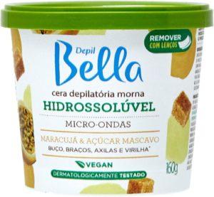 Cera para pepilação Depil Bella Hidrossolúvel Maracujá