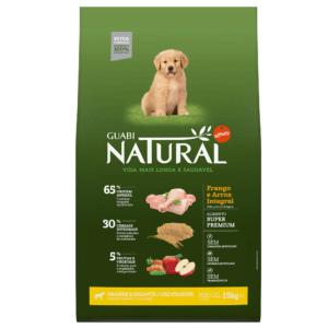Ração Para Cão Filhote Guabi Natural