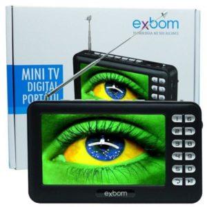 TV portátil Exbom Digital mini MTV – 43A
