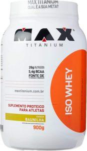 Whey Protein isolado Max titanium Iso Whey