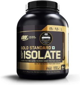 Whey Protein isolado Optimum Nutrition Gold Standard 100% Isolate
